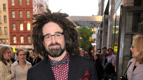 """Counting Crows frontman Adam Duritz and Aniston dated in 1995. """"We never even slept together,"""" Duritz once said of their romance, via <a href=""""http://www.usmagazine.com/celebrity-news/pictures/can-you-believe-they-dated-20091812/5867"""" target=""""_blank"""" target=""""_blank"""">US Weekly.</a>"""