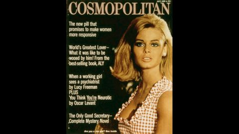 Gurley Brown helped turn Cosmopolitan into one of the most popular women's magazines in the world. She started in 1965 and was editor for more than three decades.