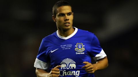 Jack Rodwell made his Everton debut in 2007 and has played twice for England.