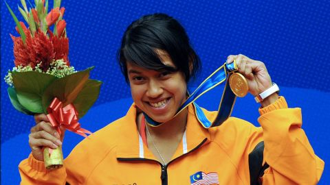Nicol David is a six-time world champion who is fronting a campaign aimed at getting squash into the 2020 Olympics.