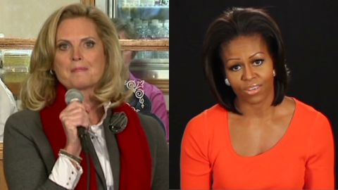 Political wives reveal personal sides