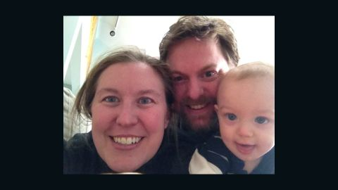 """Christina Lamb and her husband call their son a """"free gift with disease."""""""
