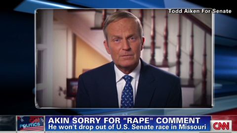"""Rep. Todd Akin's """"magical"""" theories about pregnancy and rape ignore scientific fact, says Margaret Martonosi."""