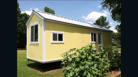 """Andrew Odom and his wife have had several critics when it comes to their tiny lifestyle, but says most are accepting after seeing how passionate they are about it. """"I'm just inspired by our involvement in the tiny house community,"""" he said. """"It is very tight-knit."""""""