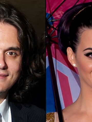 """After reportedly going their separate ways, it seems Mayer and Perry are hanging out again. Though neither party has confirmed they are, in fact, an item, they have been <a href=""""http://www.justjared.com/2012/10/17/katy-perry-john-mayers-birthday-dinner/"""" target=""""_blank"""" target=""""_blank"""">spotted out together</a> quite a bit."""