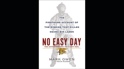 """This image courtesy of publisher Dutton, a member of Penguin Group USA, show the cover of the upcoming book """"No Easy Day, """" the first eye witness account by one of the US Navy SEALs in the unit that killed Osama bin Laden. The scheduled publication date is September 11, 2012. Dutton said that """"No Easy Day: The Firsthand Account Of The Mission That Killed Osama Bin Laden"""" is written by one of the SEALs who entered the al Qaeda founder's hideout in May 2011 """"and was present at his death."""" The writer, identified by the pseudonym Mark Owen, is said to have left the military and is the veteran of 13 consecutive combat deployments, culminating with the Operation Neptune Spear in Abbottabad, Pakistan. The book is co-written with Kevin Maurer, a US journalist. In the book, Owen says, he wants """"to set the record straight about one of the most important missions in US military history. 'No Easy Day' is the story of 'the guys, ' the human toll we pay, and the sacrifices we make to do this dirty job."""""""
