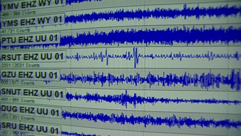 They measure seismic readings of the frequent earthquakes happening in and around Yellowstone National Park. Earthquakes can be indicators to when the next supervolcanic eruption would occur.