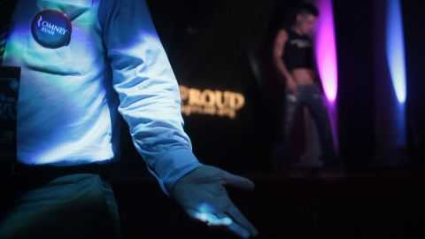 The event was thrown by GOProud, a gay Republican group that has backed Mitt Romney and Paul Ryan.