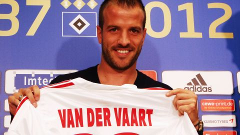 <strong>Spurs to Hamburg:</strong> The Dutch international returns to the Bundesliga after a successful two-year spell at the north London club. Van der Vaart played for Hamburg from 2005 to 2008 before joining Spanish champions Real Madrid.