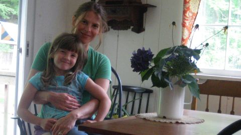 Jen Matlack worries about purchasing produce with pesticides for her 6-year-old daughter, Mae.