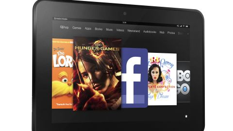 Amazon on Thursday unveiled an HD model of its Kindle Fire tablet with an 8.9-inch screen.