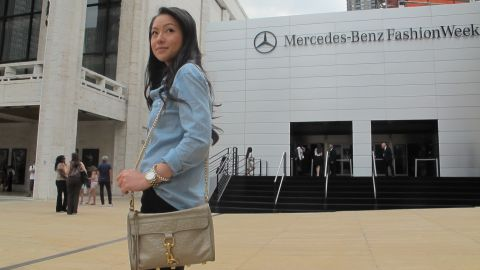 Kate Ogata won two tickets to the Rebecca Minkoff runway show.