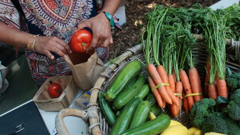 Aaron Carroll says eating organically grown food, like that shown, isn't as important as eating less-processed food.