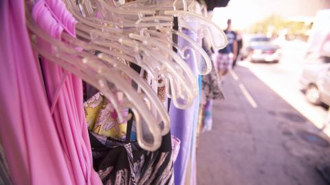 """Cheap, disposable clothing is causing a global crisis, says """"Overdressed"""" author Elizabeth Cline."""