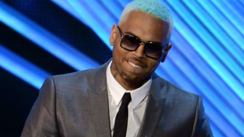 Singer Chris Brown accepts the award for Best Male Video onstage during the 2012 MTV Video Music Awards at Staples Center on September 6, 2012 in Los Angeles, California.