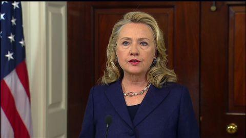Hillary Clinton Libya attack statement