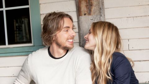 """Kristen Bell and Dax Shepard appeared together in 2010's """"When in Rome"""" and 2012's """"Hit and Run,"""" which Shepard also wrote and co-directed. The pair later welcomed their first child, daughter Lincoln, in 2013, the same year they tied the knot."""