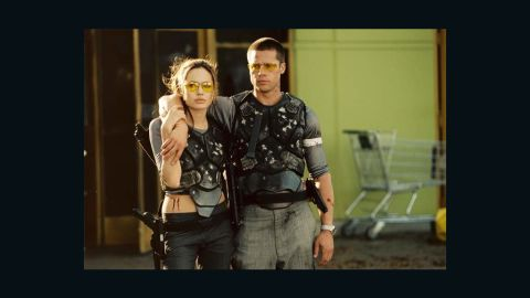 """Love blossomed on the set of """"Mr. and Mrs. Smith"""" for Brad Pitt and Angelina Jolie; unfortunately, Pitt was still married to Jennifer Aniston at the time. They divorced in October 2005, about four months after the film hit theaters, and Pitt and Jolie have been together - <a href=""""http://www.cnn.com/2012/04/13/showbiz/pitt-jolie-engaged/"""">and then some</a> - ever since. The couple will now reunite on screen for the first time in nine years for """"By the Sea,"""" a drama that Jolie wrote and will direct."""