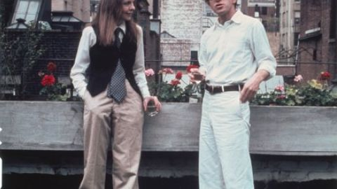 """Diane Keaton and Woody Allen dated briefly before solidifying their professional relationship with 1972's """"Play It Again, Sam."""" The pair produced eight films together over two decades. The 1977 romantic comedy """"Annie Hall"""" took home four Academy Awards."""