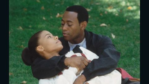 """Sanaa Lathan and Omar Epps first appeared together in 1999's """"The Wood."""" A year later, the pair reunited in """"Love & Basketball."""" Let's just say their moves on the court aren't the only reason Lathan and Epps have captivated us."""