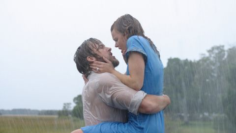 """Fans of """"The Notebook"""" really seemed to root for Rachel McAdams and Ryan Gosling. They even won the award for best kiss at the 2004 MTV Movie Awards. Sadly, the pair split after three years. Gosling is now linked to Eva Mendes, his co-star in """"The Place Beyond the Pines,"""" and McAdams went on to date her """"Midnight in Paris"""" co-star Michael Sheen for two years."""