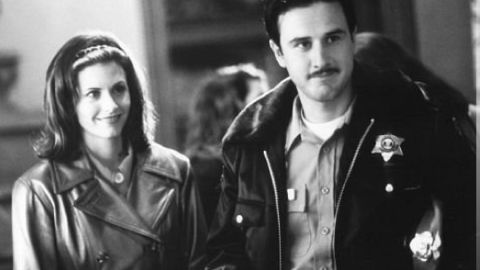 """Courteney Cox and David Arquette met while filming """"Scream"""" in 1996. The pair tied the knot in 1999, but they have since divorced. They have one daughter together."""