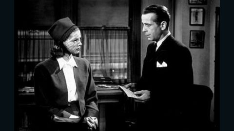 """Humphrey Bogart and Lauren Bacall first appeared together in 1944's """"To Have And Have Not."""" They collaborated on several other projects, including """"The Big Sleep"""" -- pictured here -- and """"Dark Passage."""" They were married in 1945. Bogart died of cancer in 1957, leaving behind Bacall and their two children. <a href=""""http://www.cnn.com/2014/08/12/showbiz/lauren-bacall-dead/"""" target=""""_blank"""">Bacall passed away in August 2014</a> at the age of 89. Let's see which other famous couples took their romance from reel to real:"""