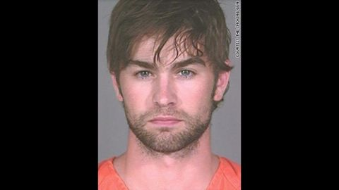 """""""Gossip Girl"""" star Chase Crawford was arrested in June 2010 in Austin, Texas, and charged with possession of marijuana. He was charged with a misdemeanor because he had less than 2 ounces, according to a police report."""