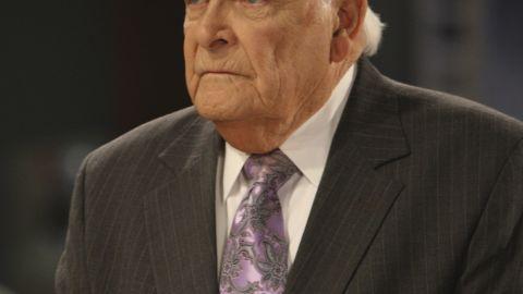 "Actor John Ingle played patriarch Edward Quartermaine on the ABC daytime soap opera ""General Hospital."""