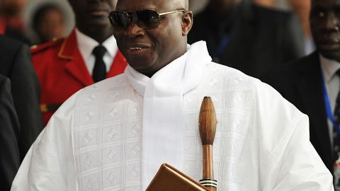 Yahya Jammeh left the country on Saturday