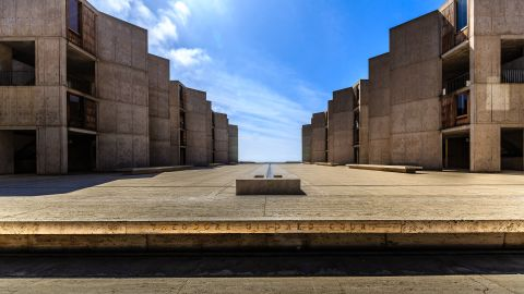 The building Ma most wishes he'd designed is the Salk Institute in California, designed by Louis Khan.
