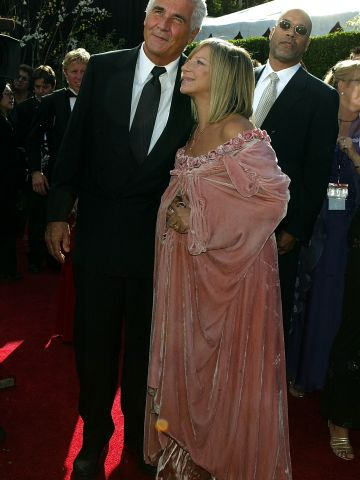 Even with husband James Brolin on her arm, Barbra Streisand makes the worst-dressed list thanks to this pink cloak she donned in 2004.