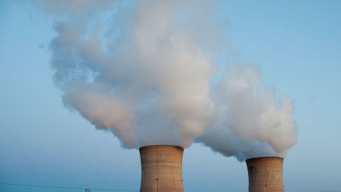 MIDDLETOWN, PA - MARCH 28: The Three Mile Island Nuclear Plant is seen in the early morning hours March 28, 2011 in Middletown, Pennsylvania. (Photo Jeff Fusco/Getty Images)