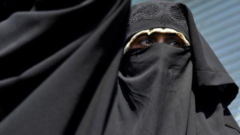A Kashmiri activist shouts anti-U.S. slogans during a protest Friday in Srinagar, India.