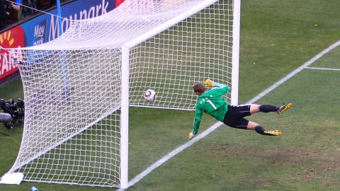 """Football has had numerous goalline controversies, leading to calls for the sport to adopt technology.  Most notably at the 2010 World Cup, when England's Frank Lampard saw his """"goal"""" disallowed in a match against Germany, despite the ball landing well over the line. The incident led to FIFA president Sepp Blatter admitting that the sport needed to embrace goalline technology."""