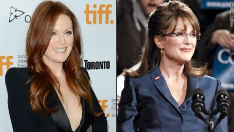 """Julianne Moore was tasked with convincingly portraying Sarah Palin in HBO's 2012 movie """"Game Change,"""" and implicit in doing so was looking the part. Moore pulled it off, picking up an Emmy in the process. Among those she thanked? Her hair and makeup team, of course."""