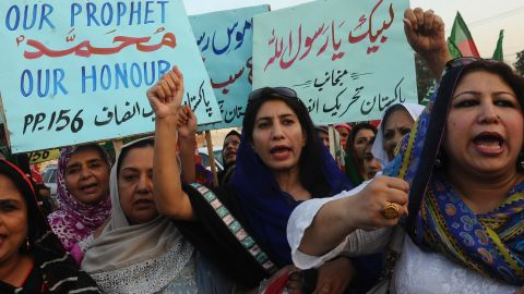 """A file image of protests following the release of the film the """"Innocence of Muslims."""""""