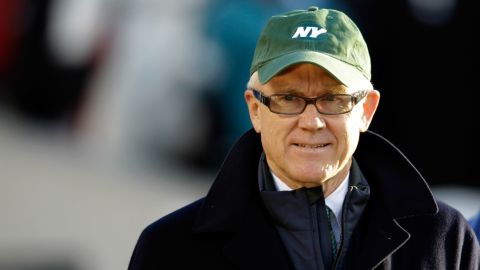 """New York Jets owner Robert Wood """"Woody"""" Johnson also is New York chairman of Mitt Romney's presidential campaign."""