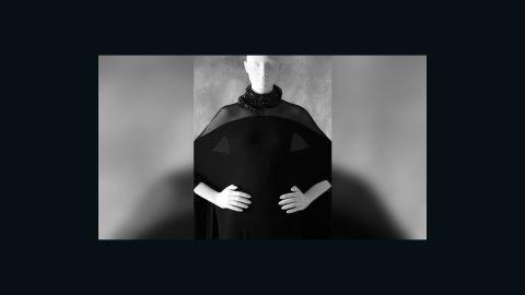 Whoopi Goldberg's Ralph Rucci caftan dress.