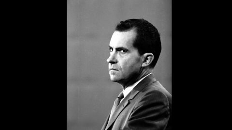 """Nixon's performance in the first debate against Kennedy was infamously marred by his ashen appearance against his more  telegenic rival, who went on to win the election by a narrow margin. <a href=""""http://life.time.com/history/kennedy-and-nixon-in-1960-debates-that-changed-the-game/#1"""" target=""""_blank"""" target=""""_blank"""">See more photos from the Kennedy-Nixon debates at Life.com</a>."""