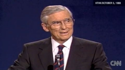 Sen. Lloyd Bentsen during a 1988 debate