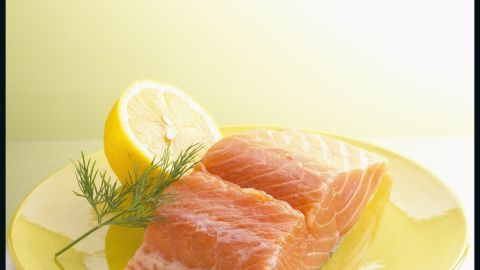 Research suggests that salmon's omega-3s help build calorie-burning muscle.