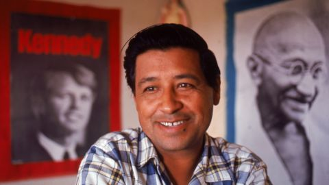 In 1962, Chavez founded the National Farm Workers Association, which grew into the United Farm Workers.