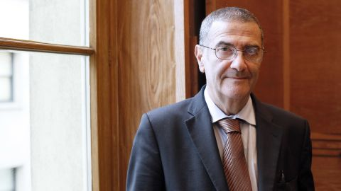 Serge Haroche, a French physicist and professor at the College de France, shares the Nobel Prize in physics with David Wineland.