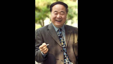 """Chinese writer Mo Yan won the 2012 Nobel Prize for literature on Thursday, October 11,  for works which combine """"hallucinatory realism"""" with folk tales, history and contemporary life grounded in his native land. Picture taken October 19, 2005."""