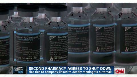 ac gupta meningitis second pharmacy shuts down _00020129