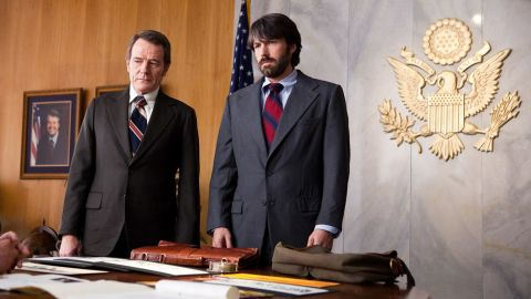 """The positive buzz was huge for """"Argo"""" and actor/director Ben Affleck, right, after his success with """"The Town."""" """"Argo"""" still stands out among December's heavy hitters, as it hasn't been forgotten by the SAG or Golden Globe Awards."""