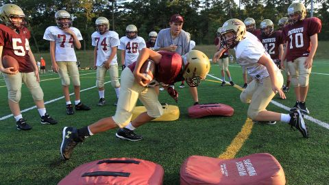 The increasing number of concussions in football has prompted one school board member in Dover, New Hampshire to propose a ban of the sport.