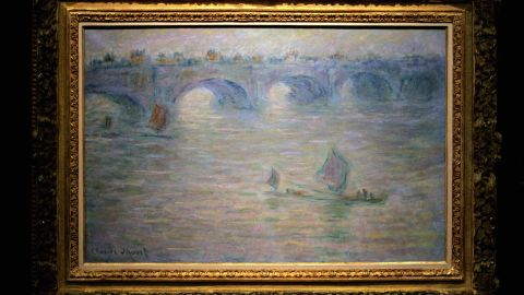 "Claude Monet's ""Waterloo Bridge, London"" was also taken during the pre-dawn heist."