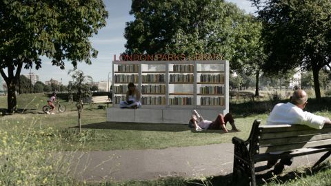Me & Sam Ltd want to establish small book exchanges thoroughout London's extensive network of parks and green spaces.